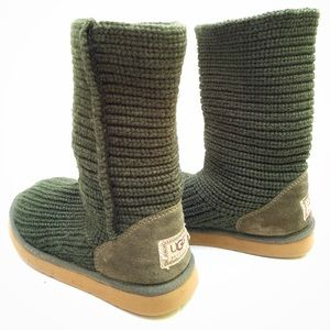 Ugg Cardy Sweater Boots Short